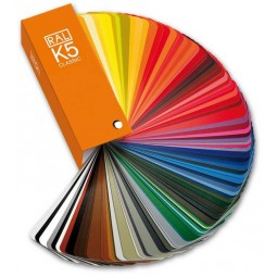 RAL K5 Color fan deck with...