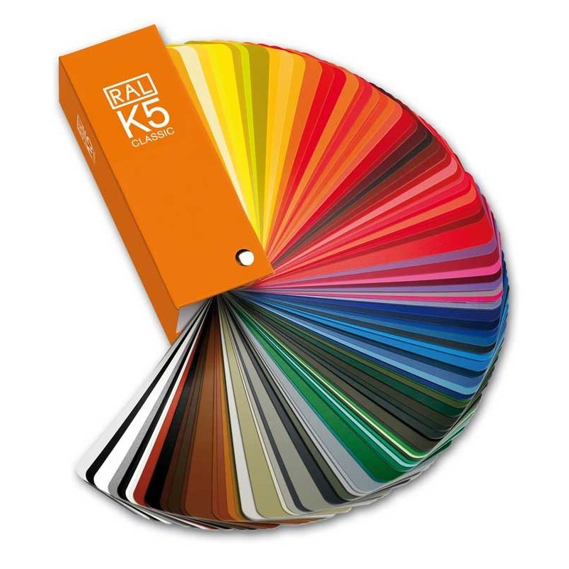 Ral K5 Color Fan Deck With 213 Ral Classic Colors