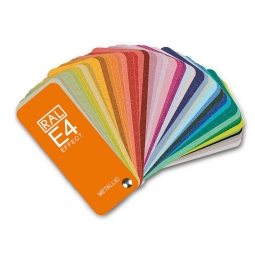RAL E4 Color fan deck with...